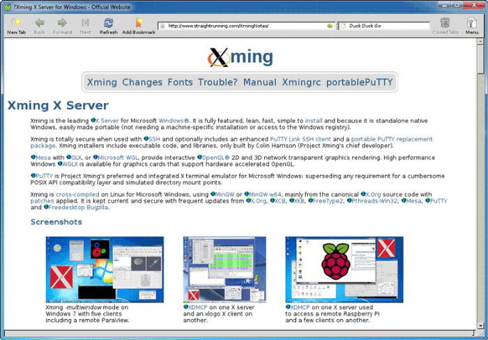 Xming with Raspberry Pi