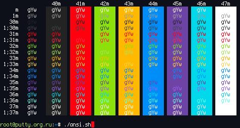 Цветовая схема Argonaut для
